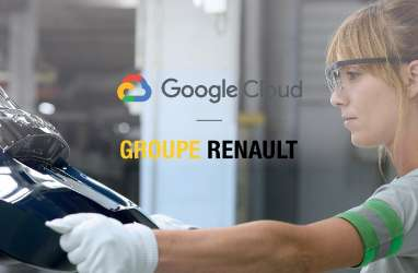 Gandeng Google Cloud, Renault Pacu Digitalisasi Industri