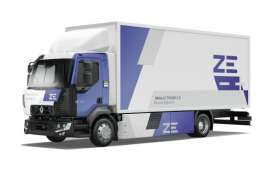 Truk Listrik Renault D Z.E Perkuat Armada Grup Delanchy