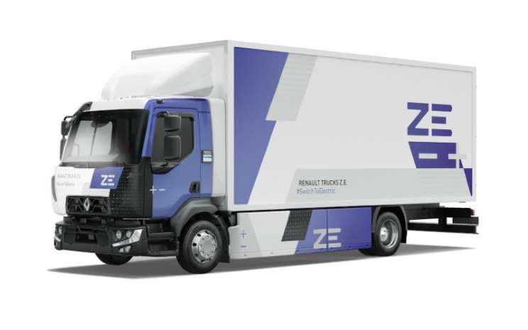 Renault D Z.E., truk sepenuhnya listrik. - RENAULT