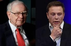 Elon Musk Ungguli Warren Buffett di Peringkat Miliarder Dunia