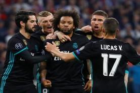 Real Madrid Kehilangan Marcelo Hingga La Liga Usai