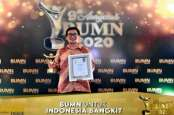 Patra Jasa Raih Penghargaan Terbaik Ke-II di Anugerah BUMN 2020