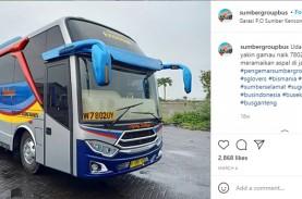 Positif Covid-19, Petugas Tiket Bus Grup Sumber Jurusan…