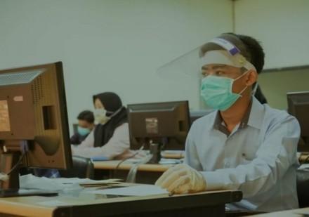 8 Peserta Reaktif Corona, UTBK 2020 Hari Terakhir di Unair Diikuti 14 Orang