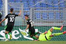 Hasil Liga Italia: Kejutan, Sassuolo Bekuk Lazio di…