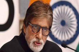 Bintang Bollywood Amitabh Bachchan dan Abhishek Positif…