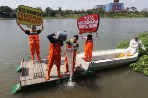 Sungai Brantas Tercemar Mikropalstik Yang Membahayakan Manusia