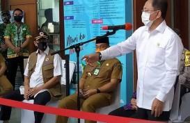 Pantau Penanganan Covid-19 di Jatim, Terawan Ngantor di Surabaya