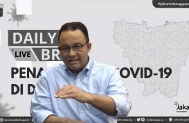 Rekor Covid-19 DKI , Anies: Jangan Sampai Kami Tarik Rem Darurat