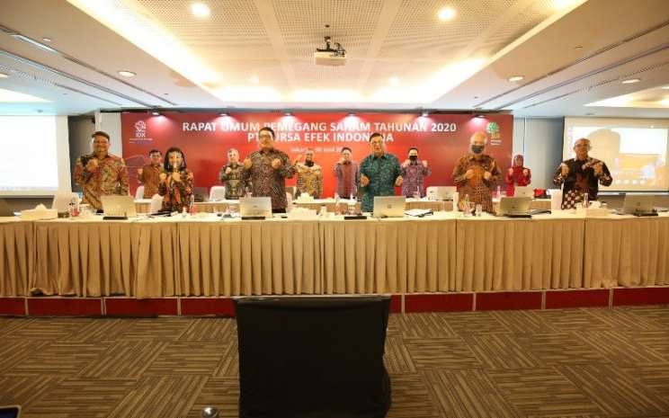Rapat Umum Pemegang Saham Tahunan PT Bursa Efek Indonesia Tahun 2020. Istimewa