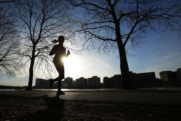 Jogging.  - Reuters