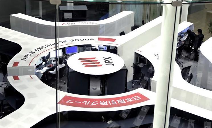 Tokyo Stock Exchange atau Bursa Saham Tokyo, Jepang. -  Kiyoshi Ota / Bloomberg