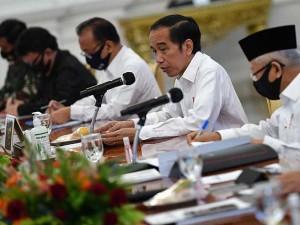 Presiden Joko Widodo Pimpin Ratas Percepatan Penanganan Dampak Covid-19