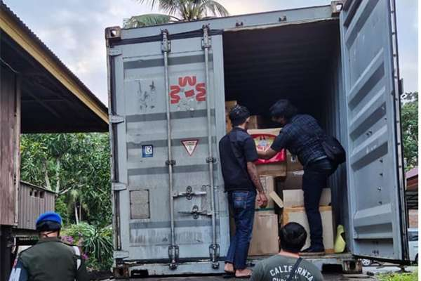 Sinergi Bea Cukai dan Karantina Wujudkan Serabut Kelapa Sulawesi Tenggara Tembus Pasar Internasional