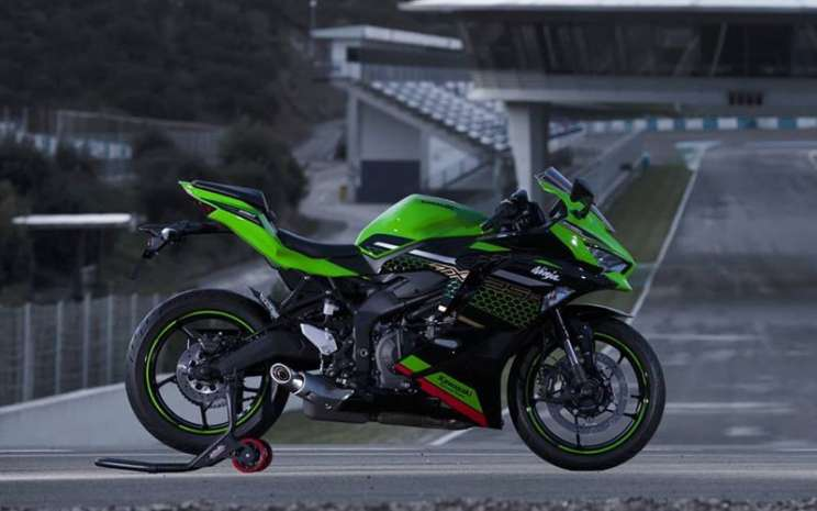 Kawasaki Ninja ZX/25R. Twitter Kawasaki
