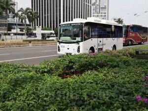 Operasional Bus Listrik Transjakarta Diperpanjang
