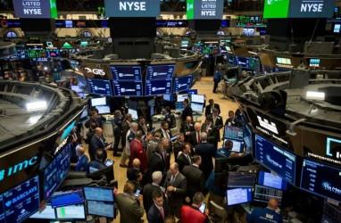 Bursa AS Koreksi Setelah Sentuh Level Tertinggi sejak Pandemi