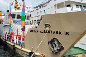 Pelayaran ke Papua Barat, KM Gandha Nusantara Merapat…