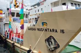 KM Ghanda Nusantara 15 Layani Sorong, Daya Angkut 10 Ton Logistik