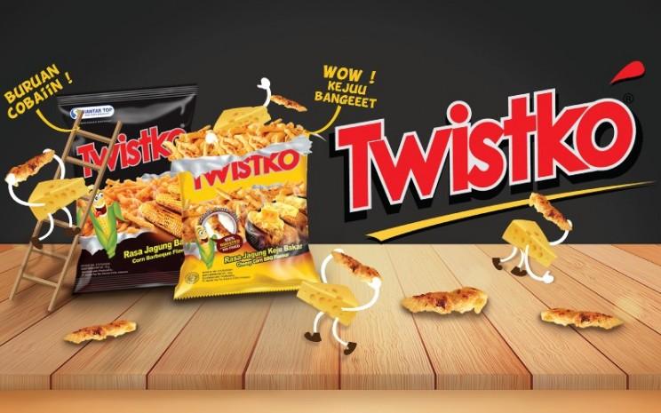 Twistko, salah satu produk PT Siantar Top Tbk. (STTP).