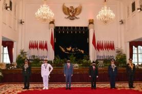 Presiden Jokowi Pimpin Pelantikan Perwira Remaja TNI…