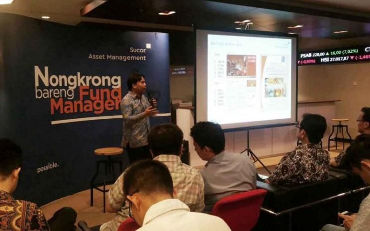 Kegiatan Nongkrong Bareng Fund Manager yang digelar Sucor Asset Management di Surabaya. - sucorinvestam