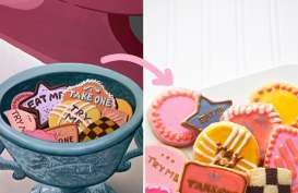 Resep Cookies Eat Me dari Alice in Wonderland