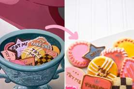 Resep Cookies Eat Me dari Alice in Wonderland