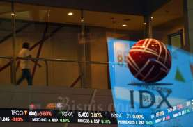 Bergerak Volatil, IHSG Ditutup di Puncak Rebound