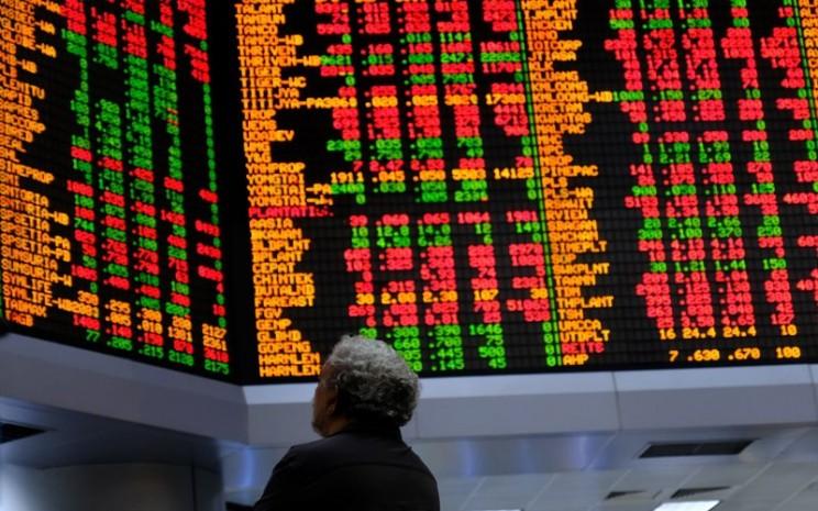 Indeks saham acuan Malaysia telah rebound lebih dari 30 persen dari level terendahnya pada Maret 2020, Selasa (14/7/2020). -  Bloomberg