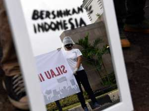 Aktivis Gerakan #BersihkanIndonesia Tolak Omnibus Law RUU Cipta Kerja