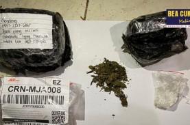 Bea Cukai Gagalkan Penyelundupan Narkotika Via Jasa…