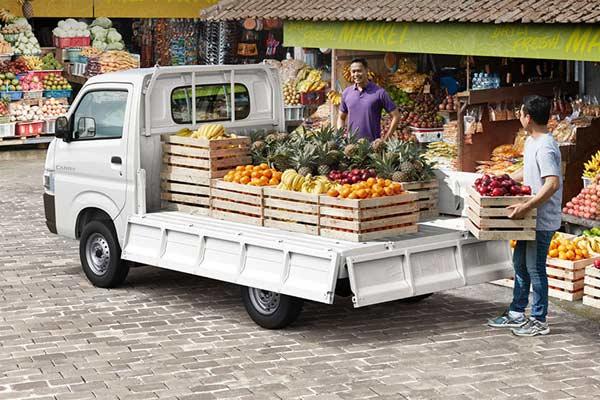 All-New Suzuki Carry mengincar sektor usaha kecil dan menengah. Model pikap ini masih menjadi penopang terbesar penjualan Suzuki Indomobil.  - suzuki.co.id