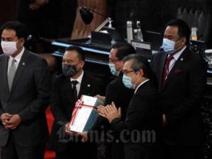 BPK Sampaikan Hasil Audit LKPP 2019 saat Rapat Paripurna DPR