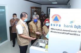 BJB Salurkan Bantuan Penanganan Covid-19 ke BNPB