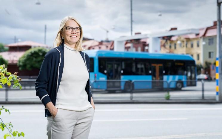 Marie Carlsson, Direktur Pengembangan Bisnis Mobilitas Kota di Volvo Buses.  - VOLVO