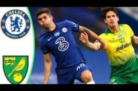 Sundulan Giroud Mantapkan Posisi Chelsea di Tiga Besar