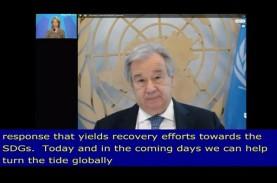 PBB: Akibat Covid-19, Kemajuan Ekonomi Dunia Mundur…