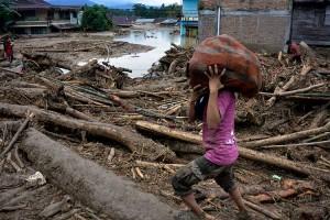 Ratusan Rumah Hilang Tersapu Banjir Bandang Luwu Utara