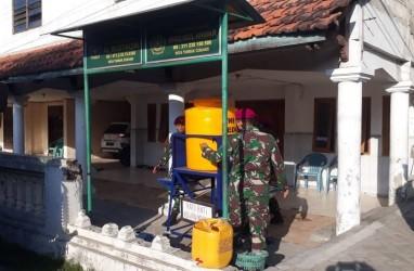 Militer Terjun ke Warga di Sidoarjo, Mengingatkan Pentingnya Protokol Kesehatan