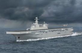Kapal Serbu Amfibi China Siap Meluncur setelah Alami Kebakaran Ringan