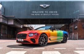 Bentley Continental GT Pelangi, Terinspirasi Desain Para Bocah