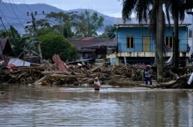 Banjir Luwu Utara, Pusat Bisnis dan Ratusan Rumah…
