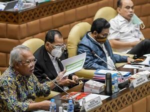 Komisi V DPR Gelar Rapat Kerja Bahas Tindak Lanjur Hasil Pemeriksaan BPK
