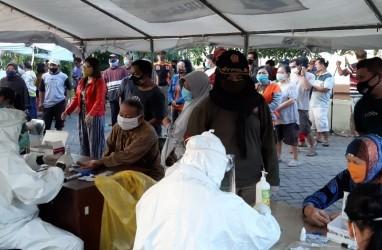 Covid-19 di Surabaya 7.331 Kasus, Tes di Pasar Kaputran 37 Orang Reaktif