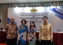 Dua Tahun Beruntun Cahayaputra Asa Keramik (CAKK) Absen Bagi Dividen