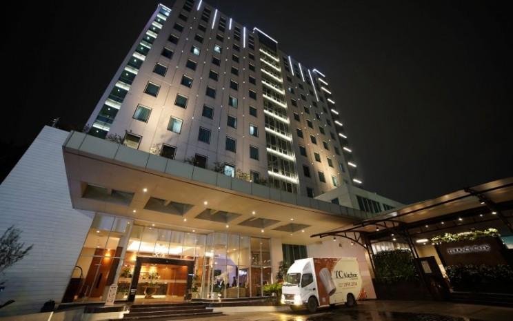 Area lobby Park Hotel, Jakarta Timur. Park Hotel dikelola oleh PP Hospitality, bagian dari kelompok usaha PT PP (Persero) Tbk. - parkhotel.co.id