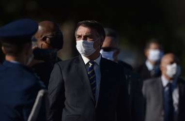 Hasil Tes Covid-19 Masih Positif, Presiden Brasil Mengaku Sehat