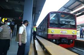 Penumpang KRL Menumpuk, 20 Bus Gratis Layani Stasiun…