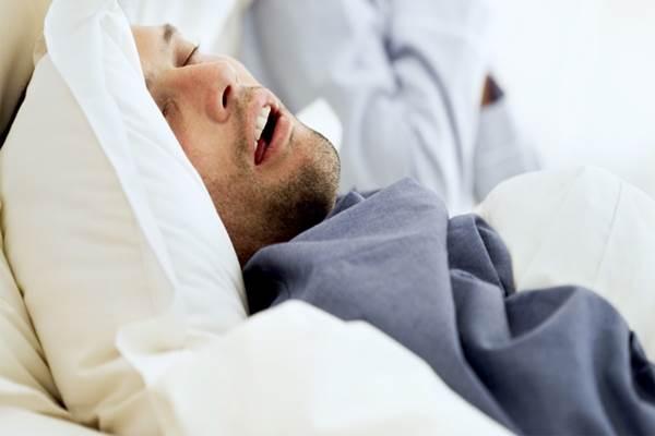 Ilustrasi penderita gangguan tidur (sleep anea). - Istimewa